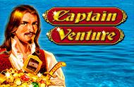 Играть в автомат Captain Venture от гаминаторслотс онлайн картинка логотип