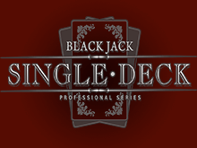 Азартный автомат Single Deck Blackjack Professional Series